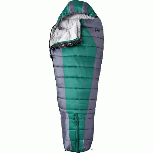 Slumberjack Ultimate Synthetic +30 Sleeping Bag, Regular, Right Zip, Outdoor Stuffs