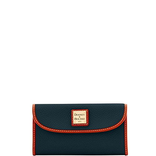 DooneyDillen Leather Continental Clutch Wallet by Dooney & Bourke