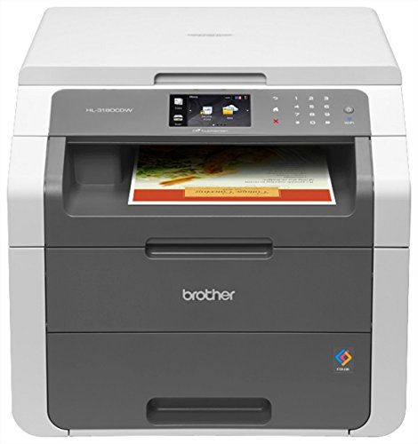 Brother Wireless Digital Color Printer with Convenience Copying and Scanning (HL-3180CDW), image