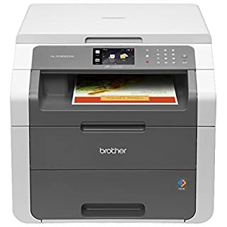Brother Wireless Digital Color Printer with Convenience Copying and Scanning (HL-3180CDW), Amazon Dash Replenishment Ready