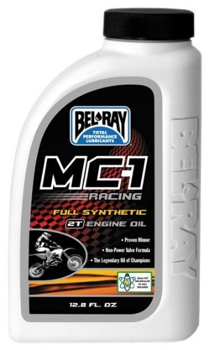 MC-1 Racing Full Synthetic 2T Engine Oil - 12.8oz., Manufacturer: Bel-Ray, MC1 2CYC SYN RACE OIL - Ray Race