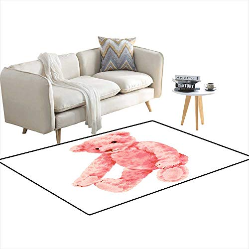 Kids Carpet Playmat Rug Pretty Bear 48