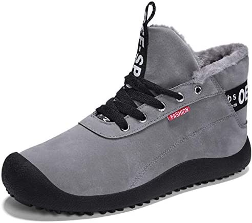 スノーブーツ 安全靴 綿靴 メンズ カジュアルシューズ レースアップ 冬用 防風 裏ボア 耐久性 裹起毛 衝撃吸収 滑り止め 柔らかい もこもこ 通勤 遠足 遊び