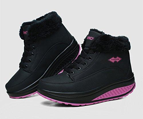 Balançoire Course chaud Sneakers Casual Hiver running Femme de Baskets Chaussures Gym microfibre Eagsouni® Fitness Cuir Entrainement Peluche BTz1qw