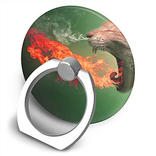 Universal Phone Ring Bracket Holder Cat-Wallpaper Finger Grip Stand Holder Ring Car Mount Phone Ring Grip Smartphone Ring Stent Tablet -