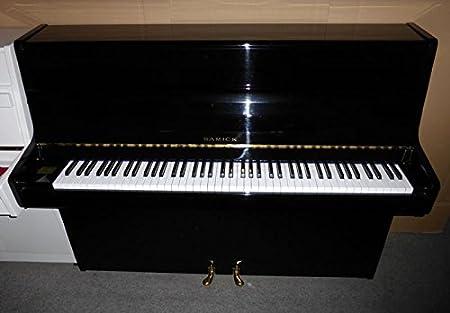 Piano marca Samick negro pulido usado: Amazon.es ...