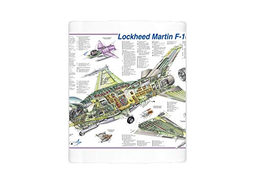 Mug of Lockheed Martin F-16E/F Block 60 Cutaway Poster (1571235)