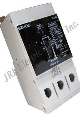 Case Circuit Breakers Molded Siemens - Siemens NGB3B020B Molded Case Circuit Breaker Interruptor 3 Pole In 20A 50/60 Hz 25Ka 277/480