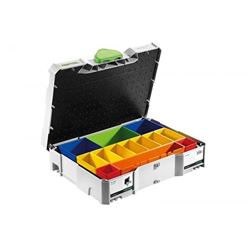 FESTOOL 497694 SYS 1 BOX Systainer with removable plastic containers