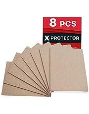 Furniture Pads Floor Protectors X-PROTECTOR 8 PCS Premium Felt Furniture Pads 20x16cm Heavy Duty 5 mm! Cut Felt Pads for Furniture Feet You Need – Best Adhesive Pads Chair Leg Floor Protectors!
