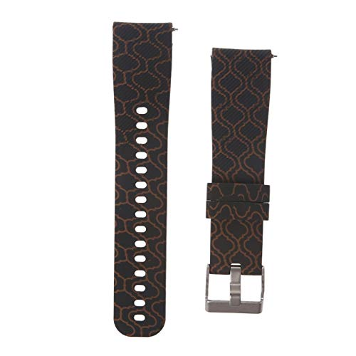 Jewh Printing Watch Strap - Wristband for Samsung Gear Sport S4 /Garmin Vivoactive 3 -