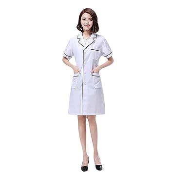Ropa de Mujer Bata Blanca Traje de Enfermera Salon de ...