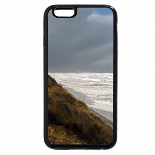 iPhone 6S Case, iPhone 6 Case (Black & White) - Seahouses