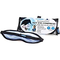 The Eye Doctor Eye Mask – Hot Eye Compress Heat Bag for Dry Eye, Blepharitis and MGD. Featuring a Removable and Washable Cover. Safe to Heat in a Microwave and Oven