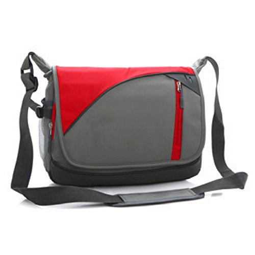 Backpack Casual Messenger Bag Shoulder Leisure purpose Multi Travel Business Laidaye Red 6zqdSxwS