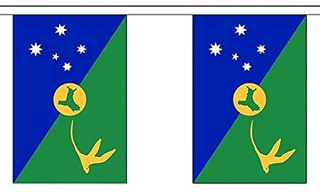 3 metros 10 (22,86 cm x 15,24 cm) de las Islas de Navidad de