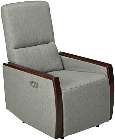 Christopher Knight Home Joyy Power Recliner, Gray Brown