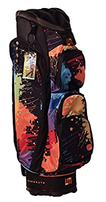 LoudMouth Loudmouth Paint Balls Cart 1 Golf Bag, Black