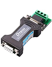 DTECH RS232 to TTL Converter 5V Serial Port RS-232 Female to TTL Male Adapter with DB9 Breakout Connector Terminal Board 3 Pin RXD TXD GND for Data Communication
