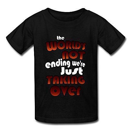 The World's Not Ending We're Just Taking Over Funny Men's Short Sleeve T-Shirt ()