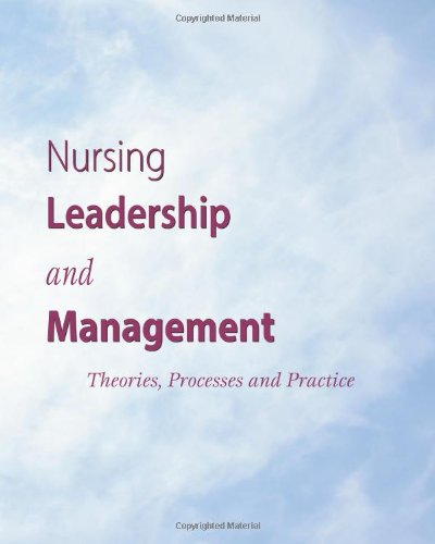 leadership and management in nursing practice Leadership, management and team working have become central to the role of the nurse, as recognised in the latest nmc standards for education this book assists students in meeting the nmc requirements, and helps them apply recent leadership and management theory to the nurse's role.