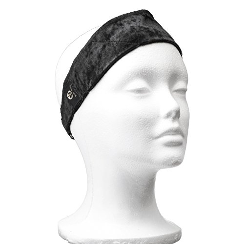 Non Slip Wig Band Grip With Strap Closure - Comfort Velour Fabric - Keep Wigs Securely In Place Without Pins Or Clips - 1 Pack - By Dini Wigs
