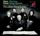Elliott Carter: The Four String Quartets / Duo for Violin & Piano - The Juilliard String Quartet / Christopher Oldfather