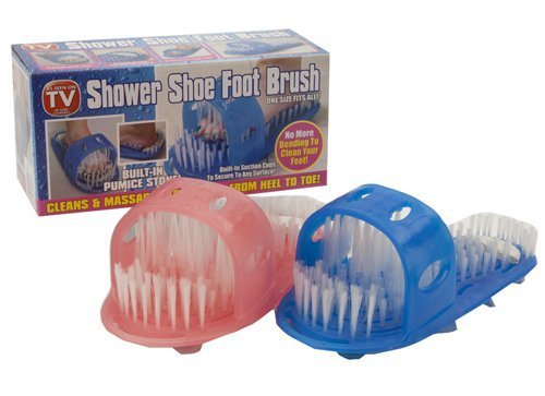 PMS Products 1x Shower Feet Foot Cleaner Scrubber Washer ...