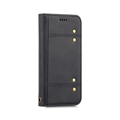 iPhone 8 Case / iPhone 7 Case, Strong Magnetic Snap Style [Removable] Leather Wallet Case With [Kickstand] [4 Card Slots] [Dual Magnetic Closure] Flip Cover for Apple iPhone 8 / ()
