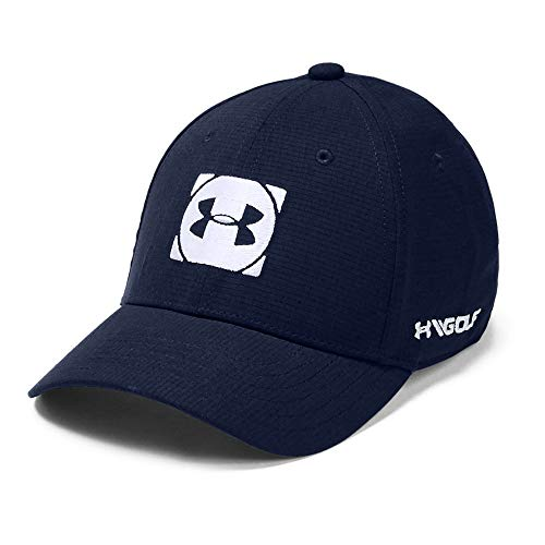 Under Armour Boys' Official Tour Cap 3.0, Academy//White, Youth Small/Medium
