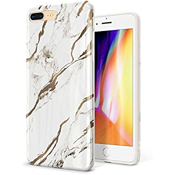 Amazon Com Gviewin Marble Iphone 8 Plus Case Iphone 7