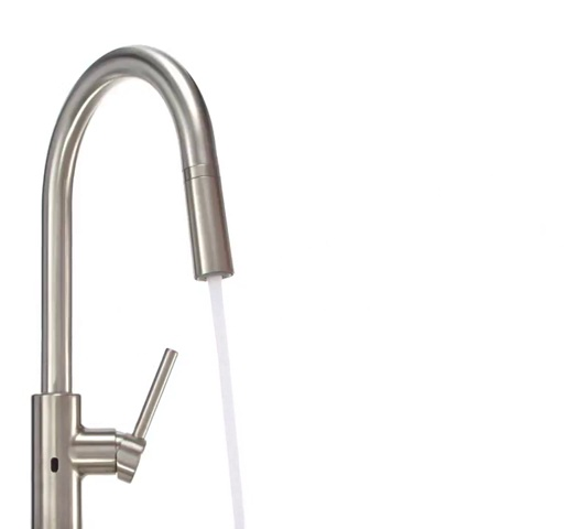 Pfister LG529ESAS Stellen Touchless Pull Down Kitchen Faucet with React Electronic Motion Sensor, Stainless Steel