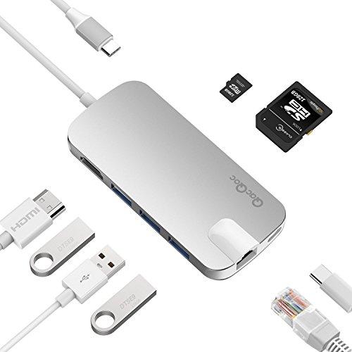 QacQoc Aluminum MultiPort Charging Ethernet product image