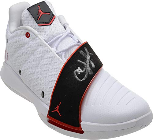 Chris Paul Autographed Jordan Brand CP3.XI Shoe - Singed in Silver Ink - Autographed NBA Sneakers