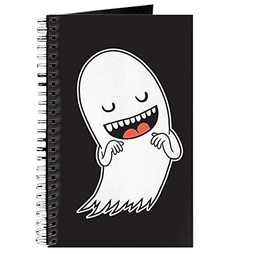 CafePress - Halloween Ghost - Spiral Bound Journal Notebook, Personal Diary, Dot -