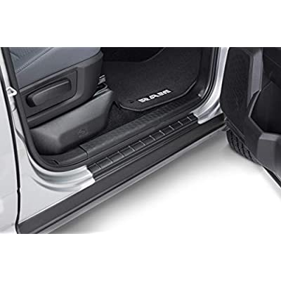 Bushwacker 14083 Black Trail Armor Rocker Panel for2009-2020 Ram 1500 with Extended Cab: Automotive
