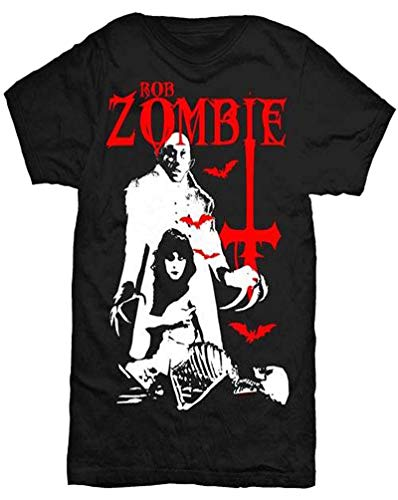 Rob Zombie Men's Nosferatu Cross T-Shirt Black (XL)