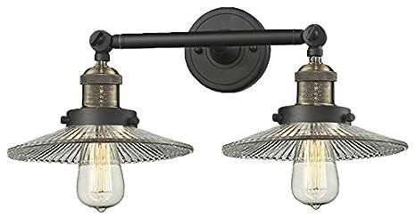 Amazon.com: Innovaciones iluminación 208-bbb-g2 halophane ...
