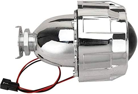 Yukiko 2.5 inch Xenon Bi-Xenon HID Clear Projector Lens Shroud Headlight H1 H4 H7