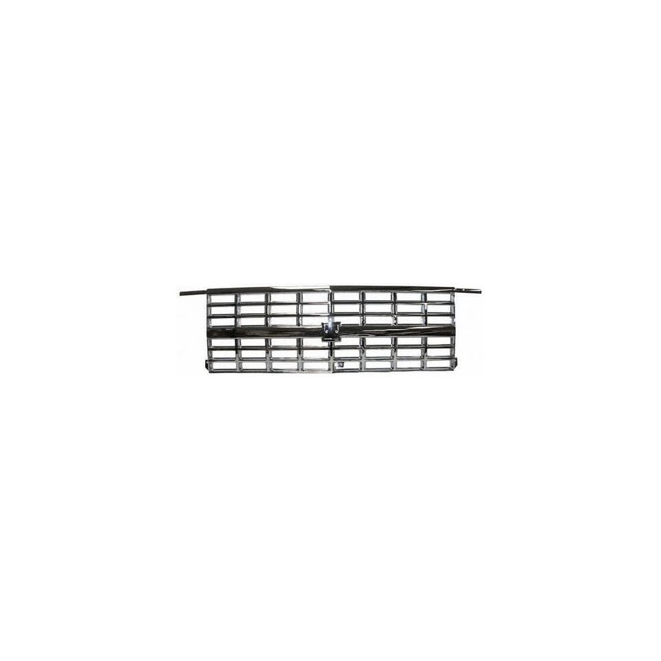 89 91 CHEVY CHEVROLET SUBURBAN GRILLE SUV, Dual Head Lamp Type, All Chrome (1989 89 1990 90 1991 91) 6971C PERFORMANCE
