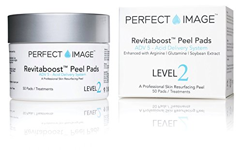 Hydroxy Acid Skin Care System (REVITABOOST PEEL Anti-Aging Peel Pads - Enhanced with Glycolic | TCA | Mandelic Acid | Arginine | Glutamine | Soybean)