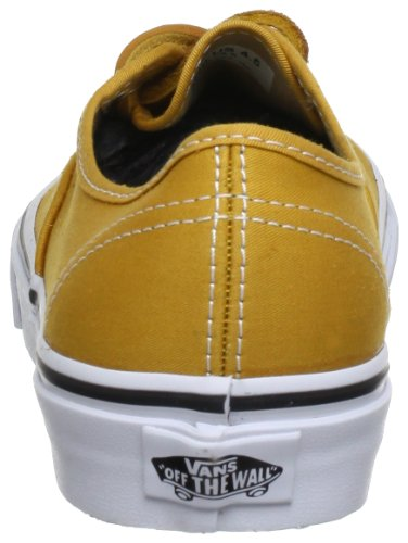 Vans U AUTHENTIC (BRUSHEDTWILL)M - Zapatillas de lona unisex amarillo - Gelb ((BrushedTwill)M)