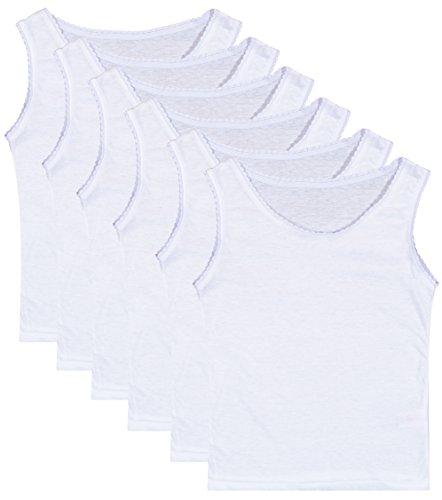 pretty white tank tops - 8