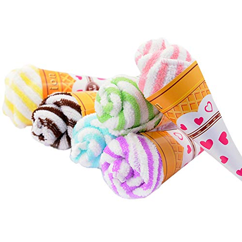 Frozac 2019 New Towel 30Pcs/Lot Ice Cream Cones Cake Towel Festive Wedding Birthday Party Giftme Decorative Accessories Supplies Gear ()