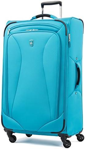 Atlantic Ultra Lite Softsides 29 Expandable Spinner, Turquoise Blue