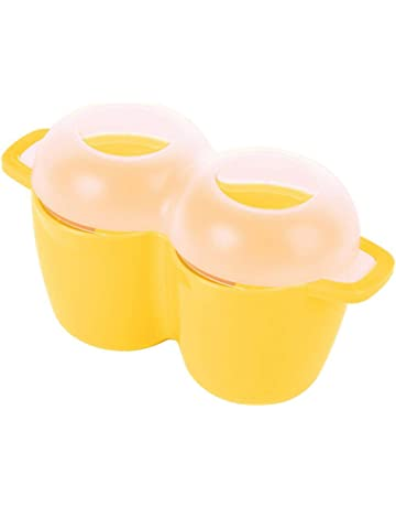 Prep Solutions by Progressive Microwave 4 Egg Poacher Easy-To-Use, Low -