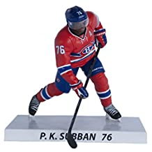 NHL Premium Sports Artifacts P.K Subban-Montreal Canadiens Collectible Figure, 6-Inch