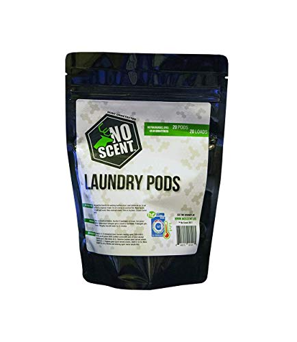 No Scent Laundry Pods: 20 Count