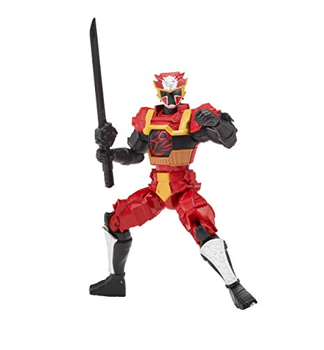 Power Rangers Super Ninja Steel Action Hero Figure, Lion Fire Armor: Red Ranger (Power Rangers Morpher Dvd)