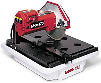 Mk Diamond 157222 Mk 170 1 2 Horsepower 7 Inch Bench Wet Tile Saw Amazon Ca Tools Home Improvement